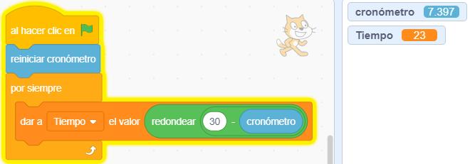 Cuenta atrás en Scratch